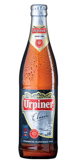 Urpiner 10°, Bottle