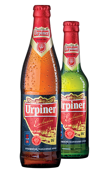Urpiner 16°, Bottle