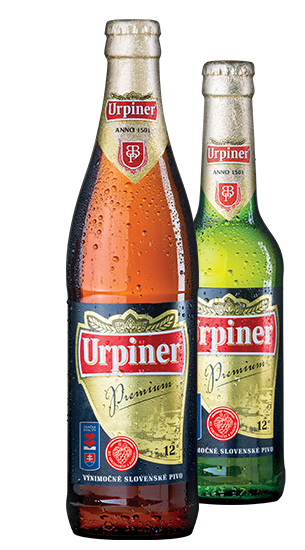 Urpiner 12°, Bottle