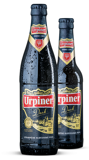 Urpiner 11°, Bottle