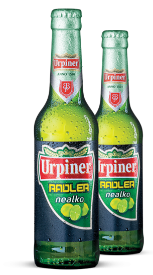 Urpiner Radler, Bottle