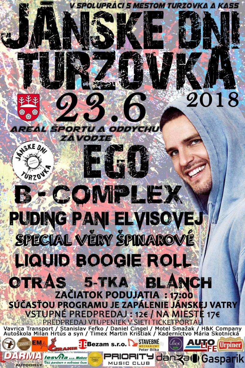 Jánske Dni Turzovka 23.6.2018