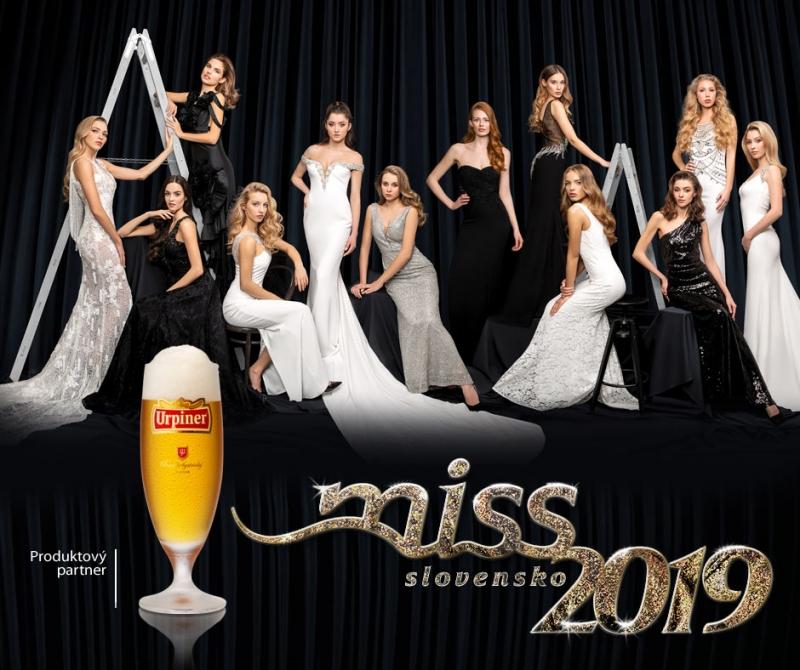 MISS SLOVENSKO 2019 - 27. 4. 2019