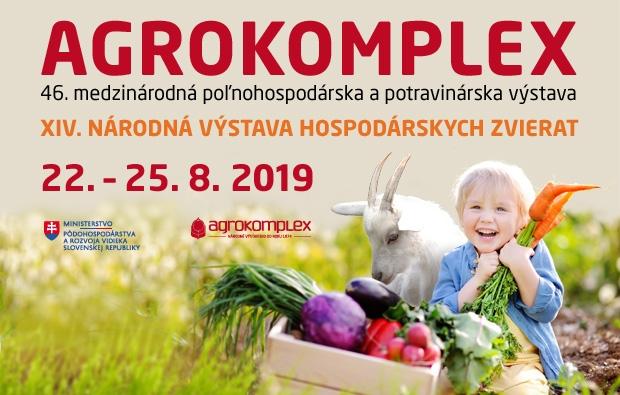 Agrokomplex 2019 - 22 - 25. 8. 2019 Nitra