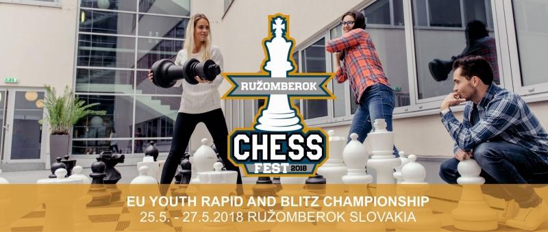 CHESS FEST 25 - 27.5 RUŽOMBEROK