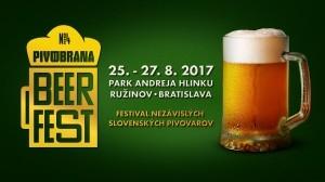 PIVOBRANA BEER FEST 31.8 - 2. 9. 2018 BRATISLAVA - RUŽINOV