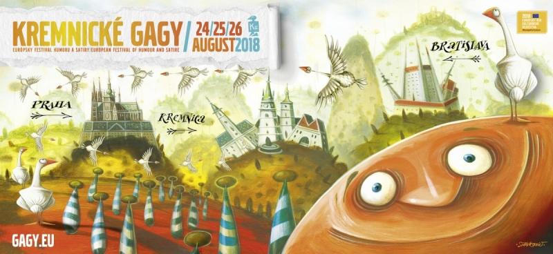 KREMINCKÉ GAGY 24 - 26. 8. 2018 KREMNICA