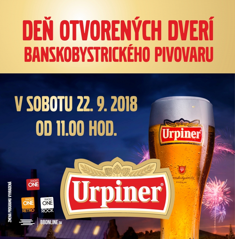 DEŇ OTVORENÝCH DVERÍ 2018 - 22. 9. 2018