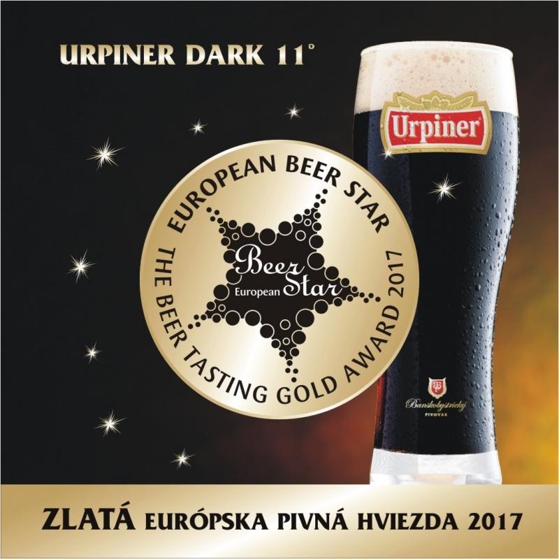 ZLATÁ EURÓPSKA PIVNÁ HVIEZDA ZO SLOVENSKA !!!