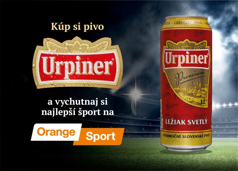 Orange a Urpiner prinesú špičkový šport do barov a reštaurácií