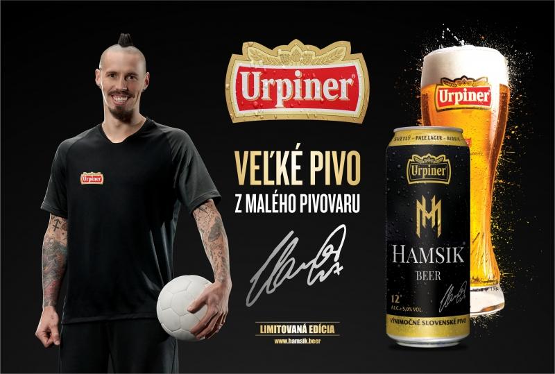 URPINER HAMSIK BEER – Výnimočné pivo – Jedinečný dizajn!