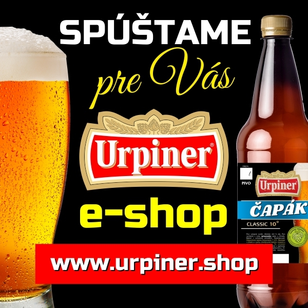 Spúšťame e-shop - www.urpiner.shop