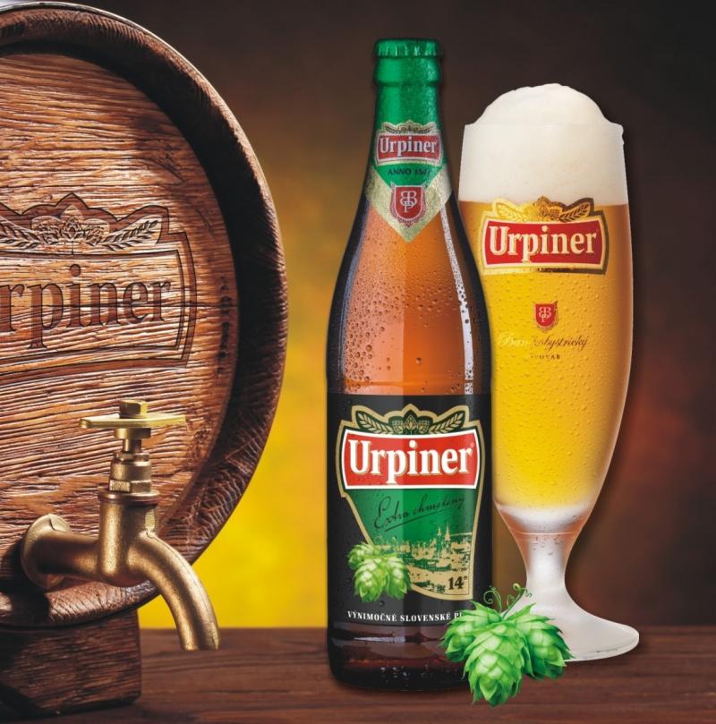 URPINER EXTRA CHMELENÝ 14° už aj vo fľaši